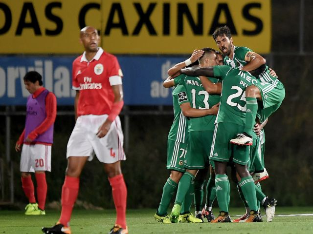 Sporting go top as Benfica slip