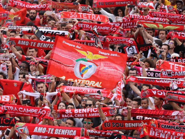 Benfica crowned champions of Portugal