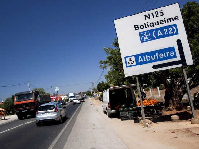 The Algarve's 'scandalous' EN125 road