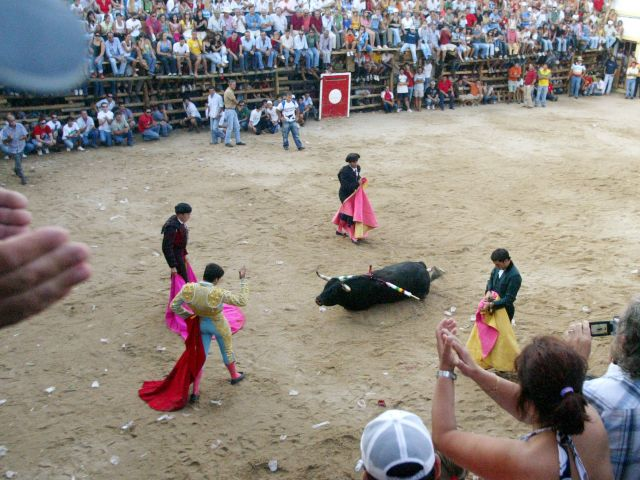 Barrancos bullfights to the death unshaken by controversy elsewhere