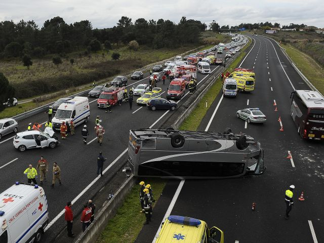 Surge in road deaths