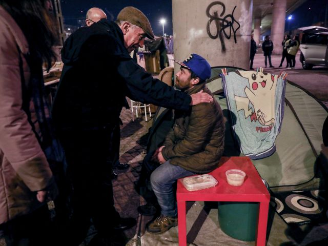 Concerns for Lisbon's homeless as temperatures plunge