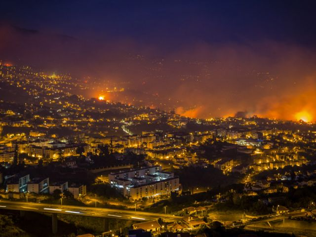 Fires ravage Portugal