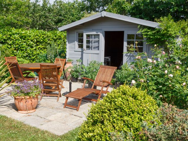 Spruce up your garden shed