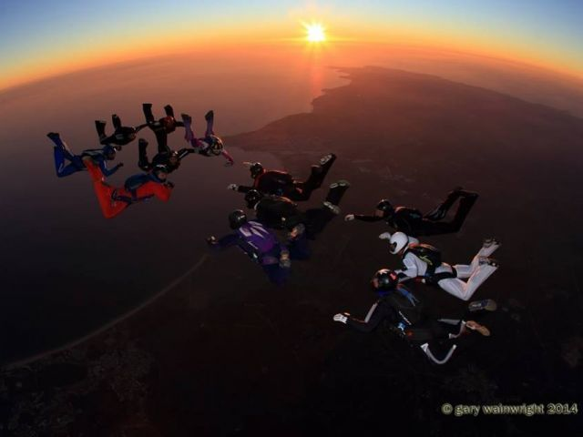 Algarve annual 'Christmas Boogie' skydive starts later this week