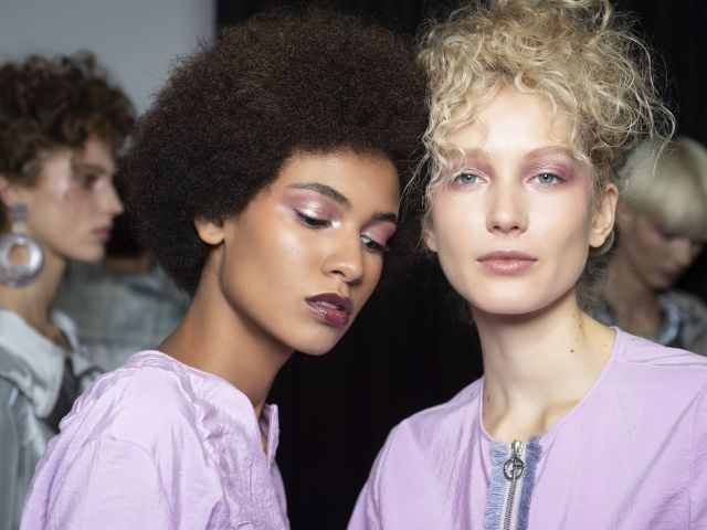 Spring catwalk beauty trends